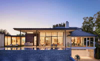 Contemporary Exterior. Clarksville Residence  by Love County Interiors and Design.