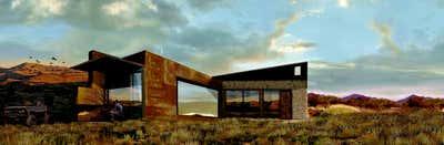 Industrial Exterior. Rust + Rock High Desert Hideaway by Matt Dougan Design.
