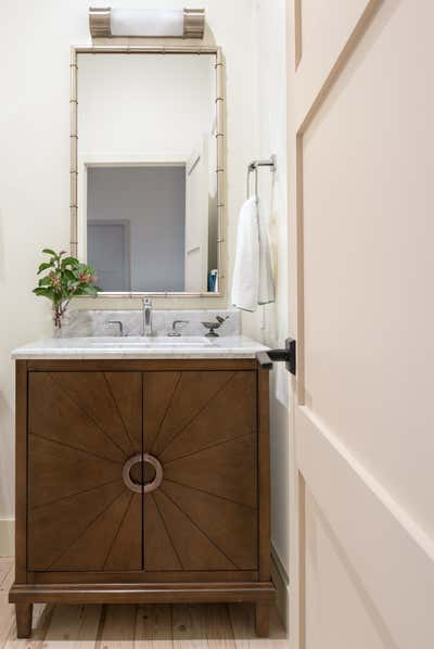 Vacation Home Bathroom. Cliffside Escape by Circa Genevieve ID.