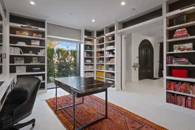 Moroccan Office and Study. Mediterranean Modern by Circa Genevieve ID.