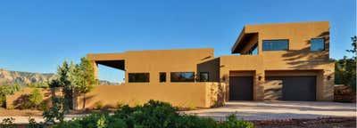 Moroccan Exterior. Desert Modern Home by Matt Dougan Design.
