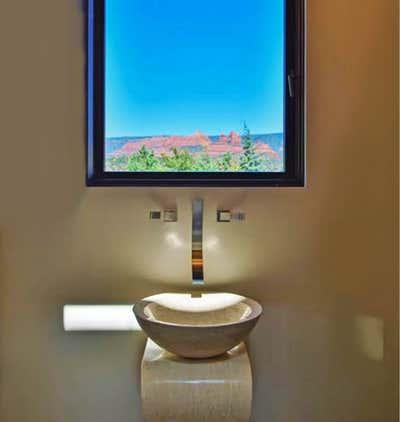 Moroccan Bathroom. Desert Modern Home by Matt Dougan Design.