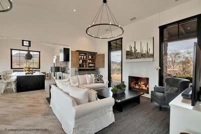 Industrial Living Room. Modern Farmhouse by Matt Dougan Design.