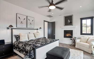 Industrial Bedroom. Modern Farmhouse by Matt Dougan Design.