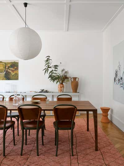 Contemporary Family Home Dining Room. Queens Park House by Arent&Pyke.