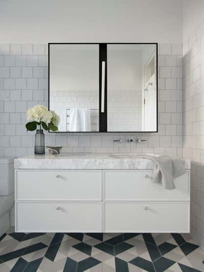Contemporary Family Home Bathroom. Queens Park House by Arent&Pyke.