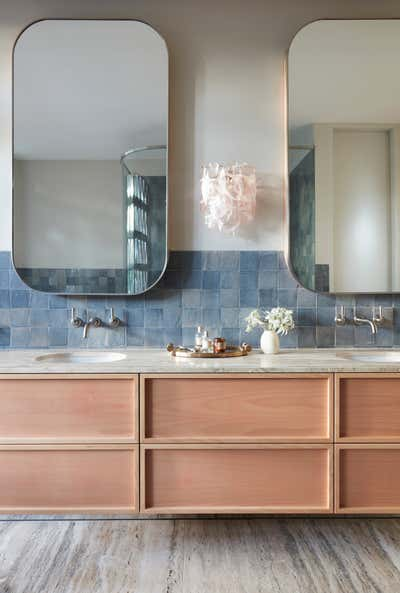 Contemporary Family Home Bathroom. La Casa Rosa by Arent&Pyke.