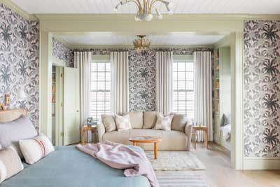 Tropical Bedroom. Work Hard Play Harder by Cortney Bishop Design.