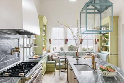 Arts and Crafts Kitchen. Work Hard Play Harder by Cortney Bishop Design.