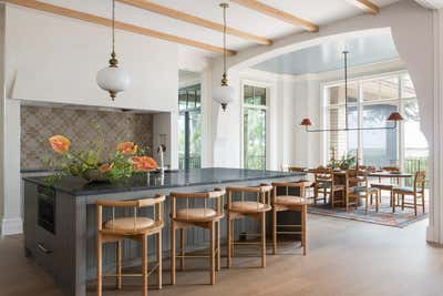 Arts and Crafts Kitchen. Manor of Fact by Cortney Bishop Design.