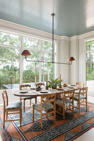 Arts and Crafts Dining Room. Manor of Fact by Cortney Bishop Design.
