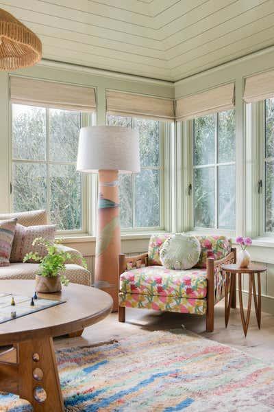 Arts and Crafts Living Room. Work Hard Play Harder by Cortney Bishop Design.
