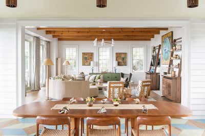 Arts and Crafts Dining Room. Work Hard Play Harder by Cortney Bishop Design.