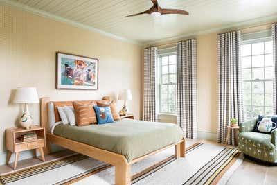 Arts and Crafts Bedroom. Work Hard Play Harder by Cortney Bishop Design.