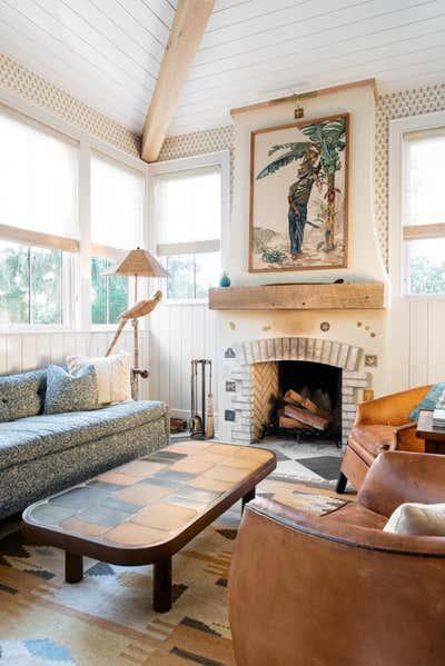 Beach Style Living Room. Island Bohemian by Cortney Bishop Design.