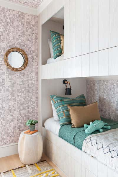 Bohemian Children's Room. Wright This Way by Cortney Bishop Design.