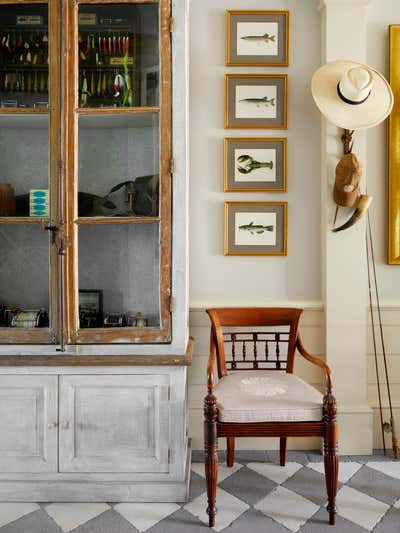 Country Lobby and Reception. Pointe Coupee by Charles H Chewning Interiors.