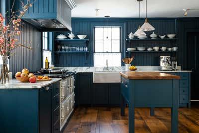 Country House Kitchen. Pound Ridge Farmhouse by White Arrow.