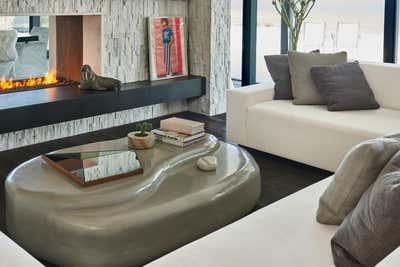 Beach Style Living Room. Montauk Beach House by Katch Interiors.