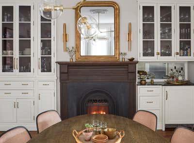 English Country Dining Room. Blackstone by KitchenLab   Rebekah Zaveloff Interiors.