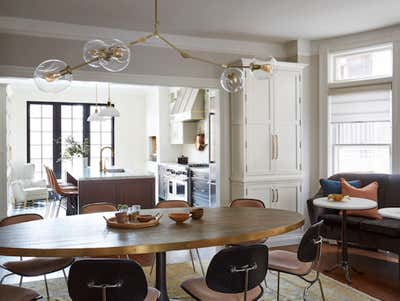 Transitional Family Home Open Plan. Blackstone by KitchenLab | Rebekah Zaveloff Interiors.