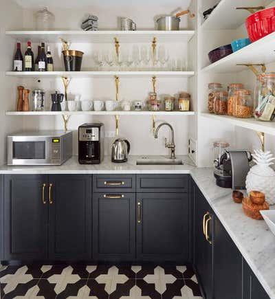 Preppy Pantry. Keystone by KitchenLab | Rebekah Zaveloff Interiors.