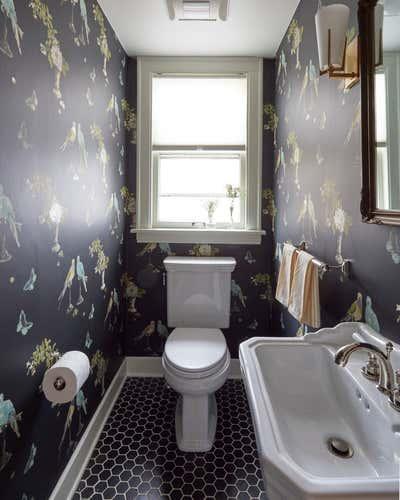 Preppy Bathroom. Keystone by KitchenLab | Rebekah Zaveloff Interiors.