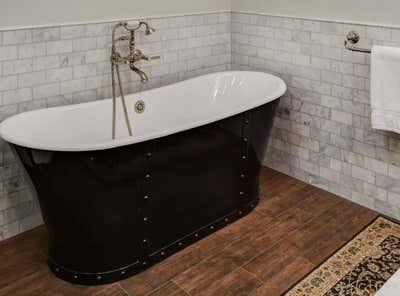 Craftsman Bathroom. Keystone by KitchenLab | Rebekah Zaveloff Interiors.