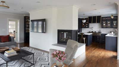 Craftsman Living Room. Keystone by KitchenLab | Rebekah Zaveloff Interiors.