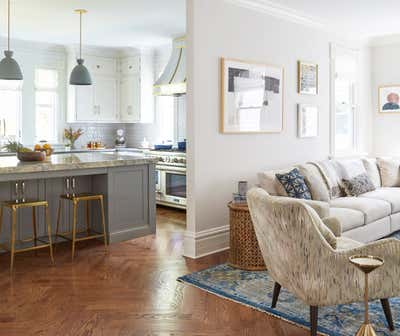 Transitional Family Home Open Plan. Kenilworth by KitchenLab | Rebekah Zaveloff Interiors.