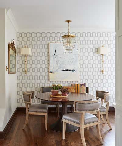 Craftsman Dining Room. Elmwood by KitchenLab | Rebekah Zaveloff Interiors.