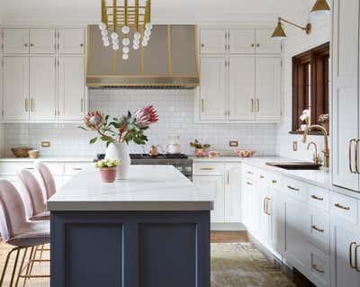 Craftsman Kitchen. Elmwood by KitchenLab | Rebekah Zaveloff Interiors.