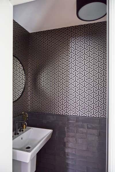 Contemporary Family Home Bathroom. Logan by KitchenLab | Rebekah Zaveloff Interiors.