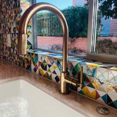 Tropical Kitchen. Palm Dessert by KitchenLab | Rebekah Zaveloff Interiors.