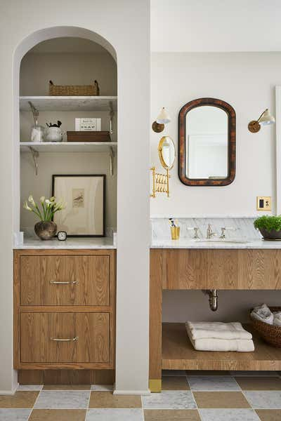 Country Bathroom. English Cottage Remodel by ReDesign Home LLC.