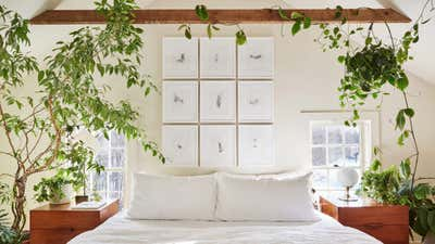 Contemporary Family Home Bedroom. Gallatin House by Workstead.