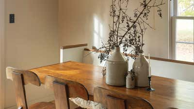 Contemporary Family Home Dining Room. Gallatin House by Workstead.
