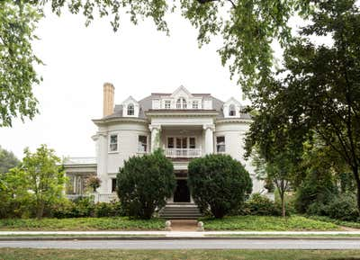 British Colonial Exterior. Prospect Park South House by Workstead.