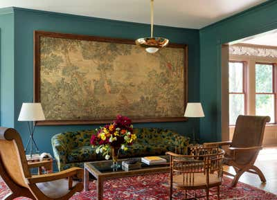 Victorian Living Room. Twin Bridges House by Workstead.