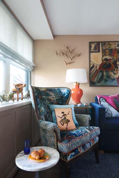 Scandinavian Living Room. Williamsburg Brooklyn, NY Coop Apartment by Keita Turner Design.