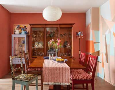 Scandinavian Dining Room. Williamsburg Brooklyn, NY Coop Apartment by Keita Turner Design.