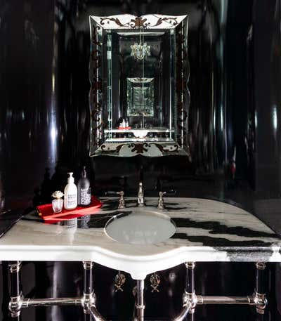 Art Nouveau Bathroom. BATHS by Elizabeth Young Design.