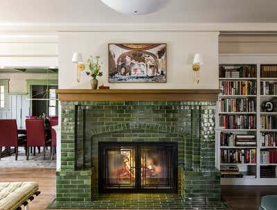 Craftsman Living Room. Santa Monica by Reath Design.