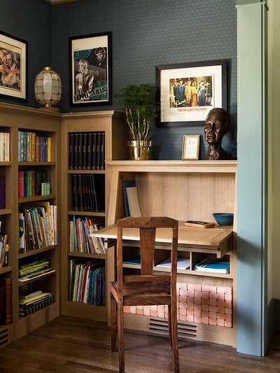 Craftsman Office and Study. Santa Monica by Reath Design.