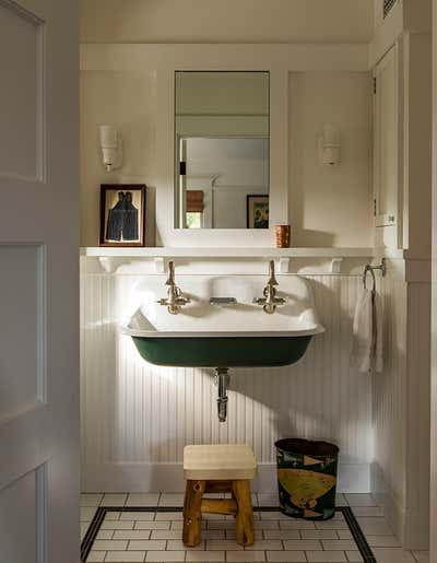 Craftsman Bathroom. Santa Monica by Reath Design.