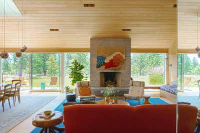 Country Living Room. Bend by Reath Design.