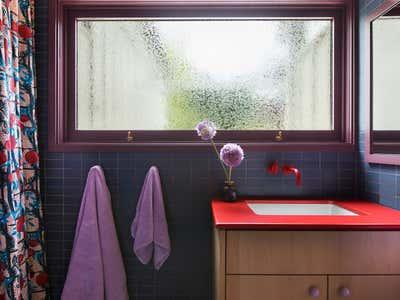 Eclectic Bathroom. Altadena by Reath Design.