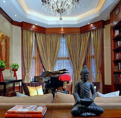 Regency Living Room. Sugar Hill Historic District Manhattan, NY Townhouse by Keita Turner Design.
