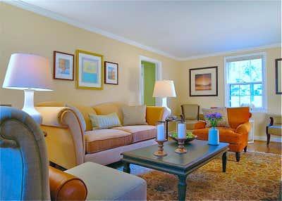 Regency Living Room. Washington, DC Center Hall Brick Colonial by Keita Turner Design.