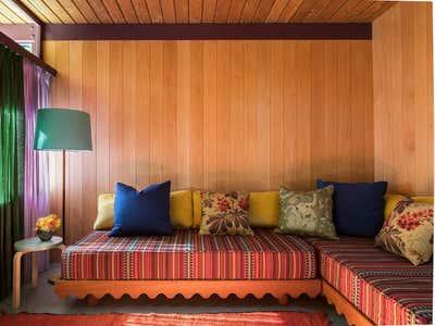 Eclectic Patio and Deck. Altadena by Reath Design.